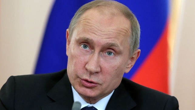 Vladimir Putin in a plea for caution over Syria
