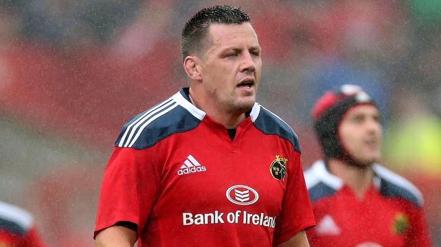 James Coughlan was released a year early from his Munster contract in May