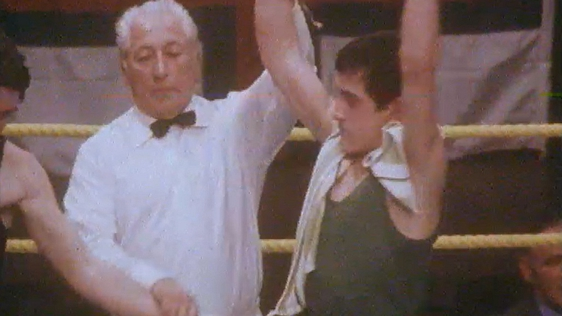 Barry McGuigan and Mick Holmes (1978)