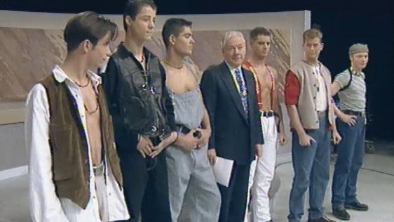Boyzone on the Late Late Show in 1993