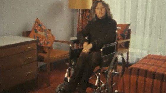 Mary McAleese Disabled in Dublin (1980)
