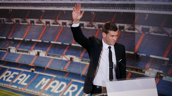 Gareth Bale became the world's most expensive footballer after his move to Real Madrid