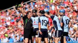 11 August: Dublin were contesting their second All-Ireland semi final in three years, and held a narrow lead by the 45th minute. But their chances of bettering the result of the 2011 semi dwindled with the dismissal of Ryan O'Dwyer for a second yellow. Th