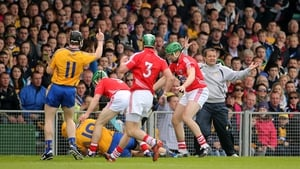 23 June: But the second half was all Cork - eight points without reply after the break effectively decided the result. sending Clare into the qualifiers and giving the Rebels a 0-23 to 0-15 victory over the Bannermen - a win for Cork at the fourth attempt