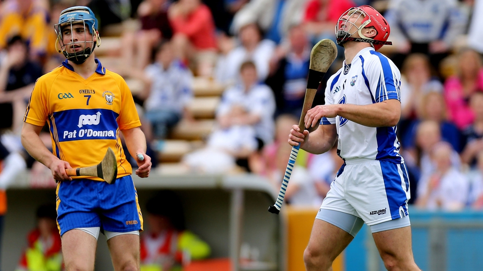 2 June: Clare began to find their feet as the game progressed and Davy Fitz's young side eventually wore down the Waterford resistance. Championship debutant Shane O'Donnell and Conor McGrath both found the net in the second half - the Banner men progress