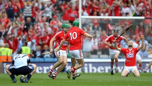 11 August: The sides were level an astonishing 15 times during the 70 minutes - with 18 different scorers overall. In the end, Cork led when it mattered and progressed to the All-Ireland final on a 1-24 to 1-19 scoreline.