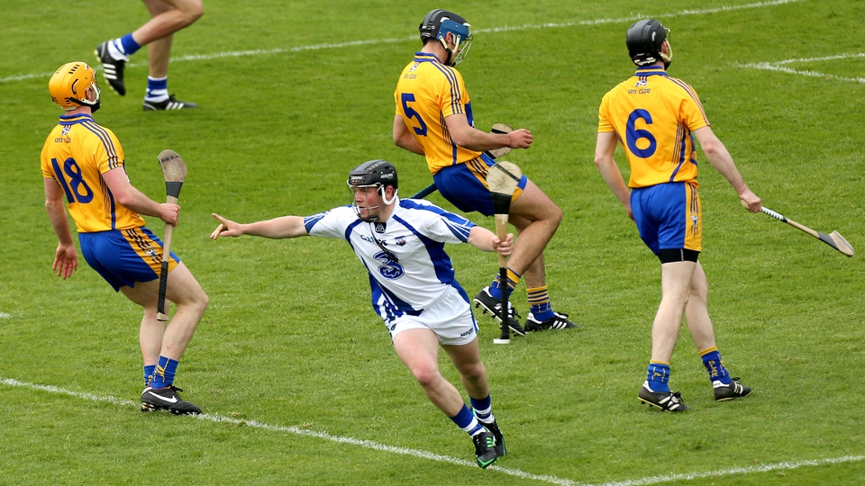 2 June: Jake Dillon's eighth-minute goal for Waterford, allied to Maurice Shanahan's four-point haul, gave the Déise a 1-09 to 0-08 interval lead, but there was little to separate the two sides in the early stages.