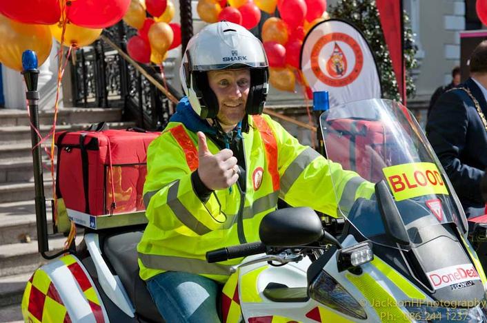 PJ Gallagher & Blood Bikes East