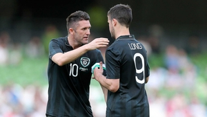 Robbie Keane and Shane Long will start up front for Ireland against Sweden
