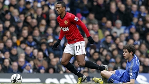 Nani is out of action for a month with a hamstring injury