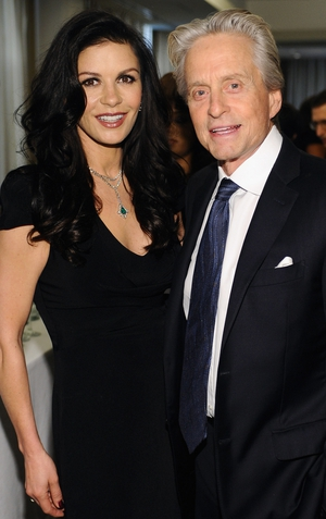 Michael Douglas said his marraige to Catherine Zeta Jones was far from over