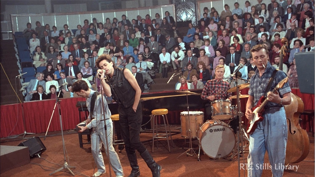 Boomtown Rats on The Late Late Show (1982)