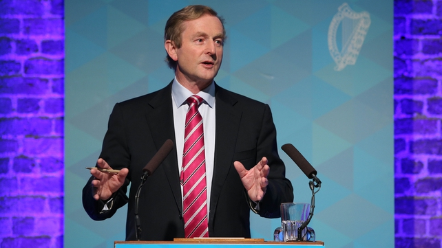 Enda Kenny says online selling presents a real opportunity for Ireland