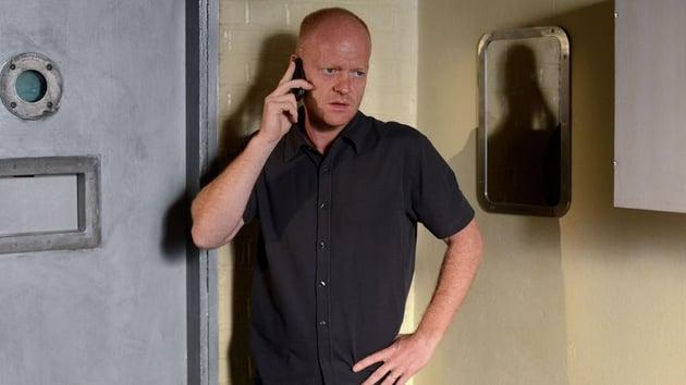 Max makes a phonecall...