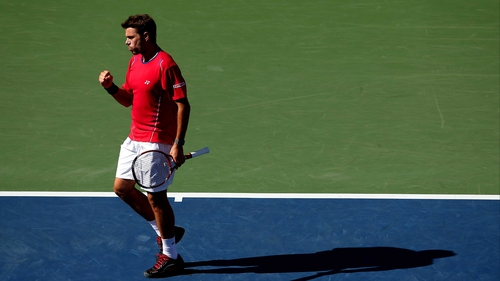 Stanislas Wawrinka has reached his first grand slam semi-final