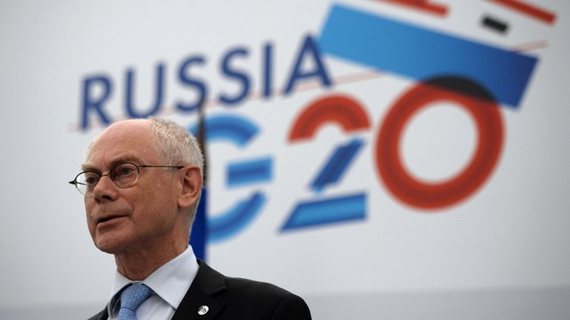 Herman Van Rompuy said a military strike would not help resolve the crisis