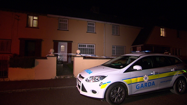 The house in the Drumbannon estate has been sealed for a forensic examination