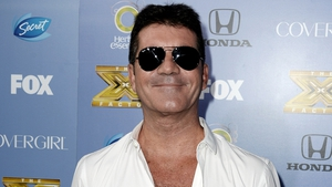 Cowell at X Factor's season 3 premiere party