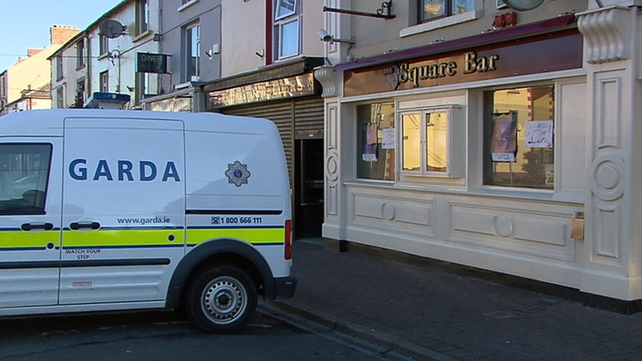 The man locked himself in the basement of the Square Bar in Bailieborough