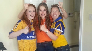 'Take it home to the Banner county, lads,' from Ciara and Marie Callinan and Elaine Gray