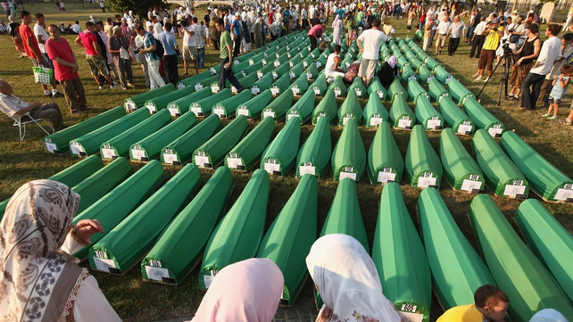 Relatives buried over 600 victims of the massacre in 2011