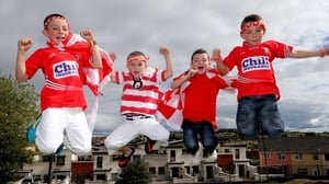 Will Séamus Ó Laochadha, Seán Gaffney, Roibeáird Ó Laoire and Alex Ó Mathúna from Gaelscoil Peig Sayers be jumping for joy on Sunday?