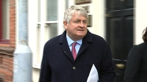 RTÉ was ordered not to broadcast a report about Denis O'Brien's banking arrangements