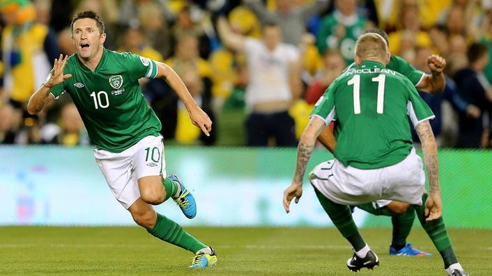 Ireland –v- Austria
