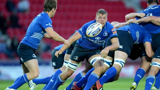 Jordi Murphy in action for Leinster