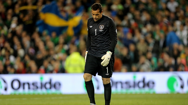 Ireland's World Cup hopes are in tatters after defeat to Sweden
