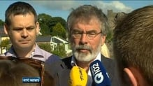 Gerry Adams yet to dispel speculation on Chris Andrews