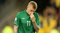 James McClean gives his reaction to Ireland's deafeat
