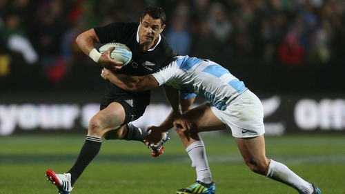 Dan Carter has now scored 1,409 points in Test rugby
