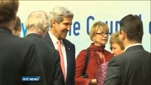Kerry briefs EU ministers on US' Syria stance
