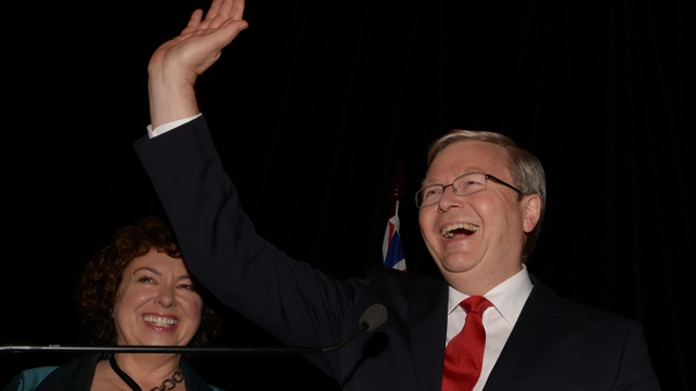 Kevin Rudd said he gave it his 'all ... it was not enough to win'