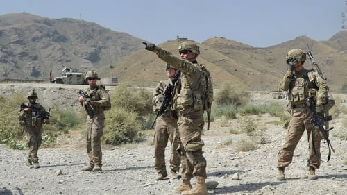 Coalition troops have heightened security and reduced interaction with Afghan forces