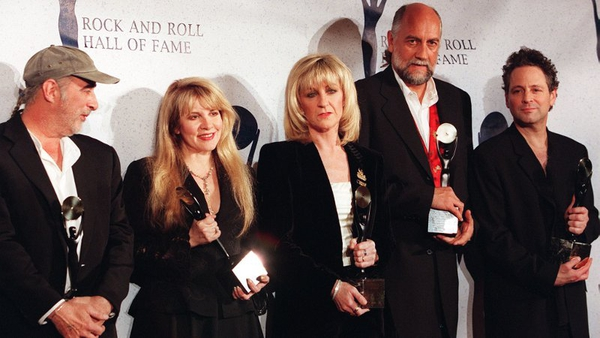 McVie (centre) back with Mac for new tracks