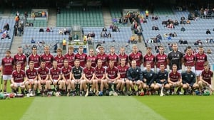 The Galway panel ahead of the All-Ireland Minor Hurling Final.