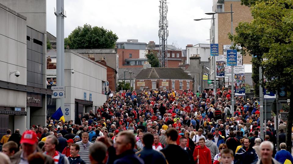 Jones' Road on All-Ireland final day
