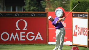Thomas Bjorn won the Omega European Masters on the first play-off hole