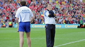 Davy Fitzgerald reacts to Clare's levelling point deep into injury time
