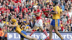8 September: Clare led throughout the game but Cork kept in touch with three second-half goals, including one from Pa Cronin. They went ahead for the first time in injury time with a Pat Horgan point.