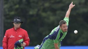 Max Sorenson took three wickets for Ireland
