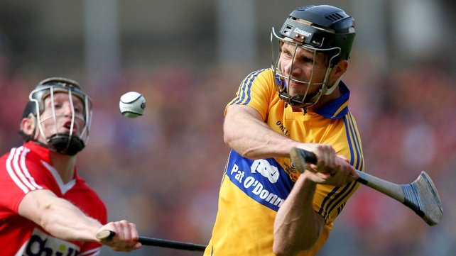 Clare's Domhnall O'Donovan hits the equalizing injury-time point