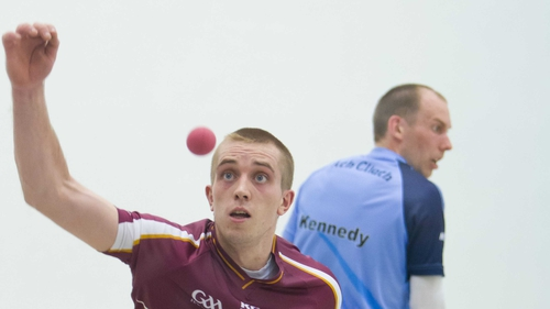 Robbie McCarthy defeated Eoin Kennedy 21-20, 21-9