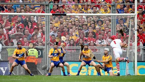 Anthony Nash scored one of the Cork goals