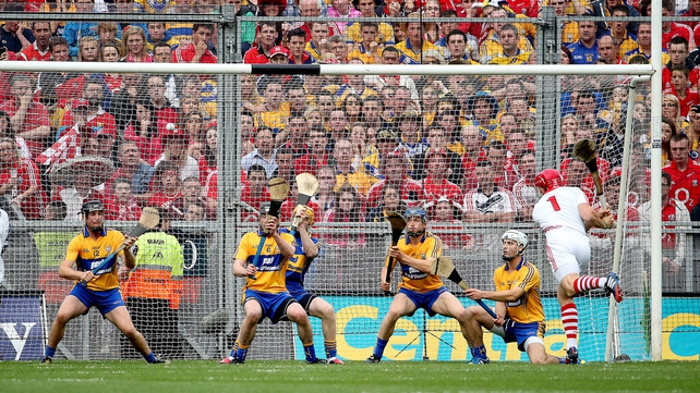 Anthony Nash scored one of the Cork goals