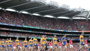 8 September: The day finally arrived and a packed house welcomed the teams on to the field at Croke Park.