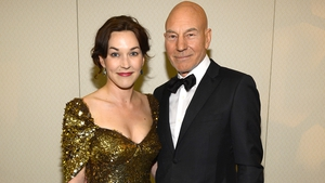 Patrick Stewart and Sunny Ozell get married