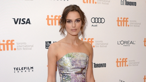 Keira Knightley at Saturday night's premiere
